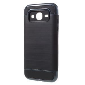 Odolný obal na mobil Samsung Galaxy J5 - tmavěmodrý - 2