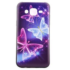 Jelly gelový obal na mobil Samsung Galaxy J5 - kouzelní motýlci - 2
