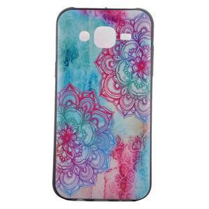 Jelly gelový obal na mobil Samsung Galaxy J5 - mandala - 2