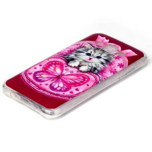 Softy gelový obal na mobil Samsung Galaxy J5 - koťátko - 2