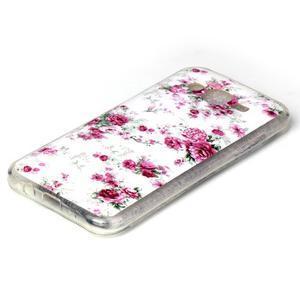 Softy gélový obal pre mobil Samsung Galaxy J5 - kvety - 2