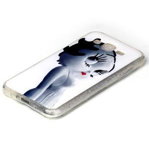 Softy gelový obal na mobil Samsung Galaxy J5 - kočička - 2