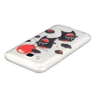 Trans gelový obal na mobil Samsung Galaxy J5 - monters - 2