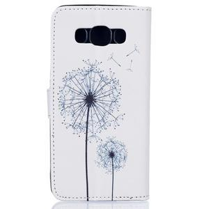 Knížkové pouzdro na mobil Samsung Galaxy J5 (2016) - pampelišky - 2