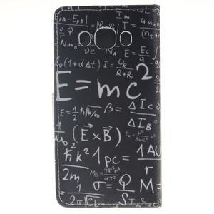 Style peňaženkové puzdro pre Samsung Galaxy J5 (2016) - vzorčeky - 2