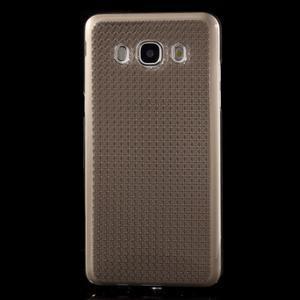Diamnods gelový obal mobil na Samsung Galaxy J5 (2016) - šedý - 2