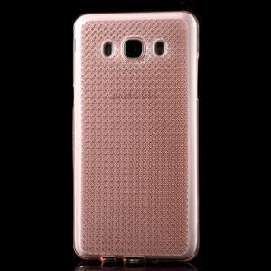 Diamnods gelový obal mobil na Samsung Galaxy J5 (2016) - růžový - 2