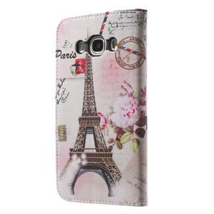 Nice peňaženkové puzdro pro Samsung Galaxy J5 (2016) - Eiffelova veža - 2