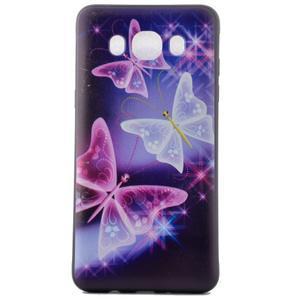 Casis gelový obal na mobil Samsung Galaxy J5 (2016) - kouzelní motýlci - 2
