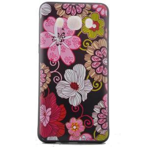 Casis gelový obal na mobil Samsung Galaxy J5 (2016) - květiny - 2