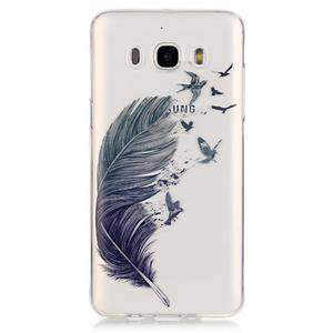 Priehľadný obal pre mobil Samsung Galaxy J5 (2016) - pierko - 2