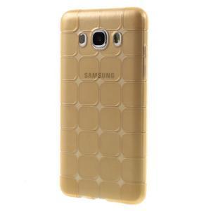 Cube gelový obal na Samsung Galaxy J5 (2016) - zlatý - 2