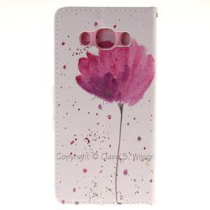 Pictures puzdro pre mobil Samsung Galaxy J5 (2016) - vlčí mak - 2