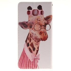 Pictures pouzdro na mobil Samsung Galaxy J5 (2016) - paní žirafa - 2