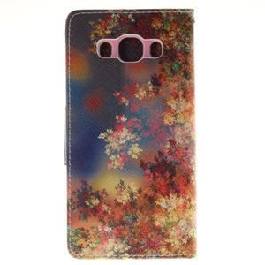 Pictures pouzdro na mobil Samsung Galaxy J5 (2016) - podzimní listí - 2