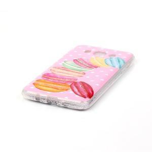 Softy gélový obal pre mobil Samsung Galaxy J5 (2016) - makrónky - 2