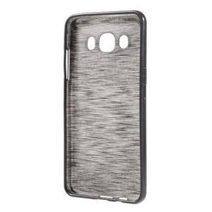 Brushed gelový obal na mobil Samsung Galaxy J5 (2016) - černý - 2