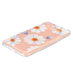 Transparentní gelový obal na Samsung Galaxy J5 (2016) - sedmikrásky - 2
