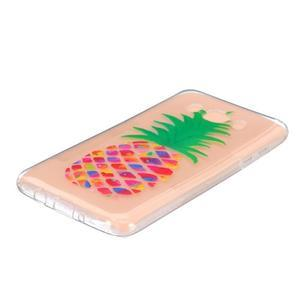 Transparentní gelový obal na Samsung Galaxy J5 (2016) - ananas - 2