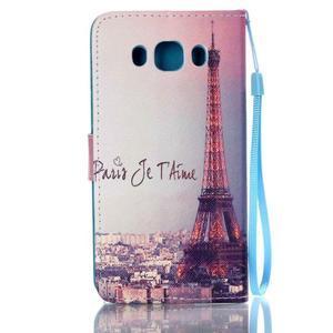 Etny puzdro pre mobil Samsung Galaxy J5 (2016) - Eiffelova veža - 2