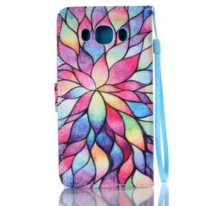 Etny puzdro pre mobil Samsung Galaxy J5 (2016) - farebné kvety - 2