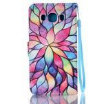 Etny puzdro pre mobil Samsung Galaxy J5 (2016) - farebné kvety - 2/6