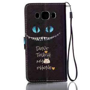Etny pouzdro na mobil Samsung Galaxy J5 (2016) - nedotákej se - 2