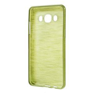 Brushed gelový obal na mobil Samsung Galaxy J5 (2016) - zelený - 2