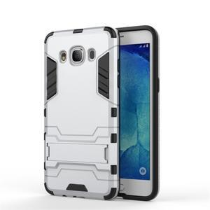 Odolný kryt pre mobil Samsung Galaxy J5 (2016) - strieborny - 2