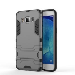 Odolný kryt pre mobil Samsung Galaxy J5 (2016) - šedý - 2