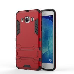 Odolný kryt pre mobil Samsung Galaxy J5 (2016) - červený - 2
