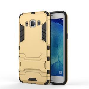 Odolný kryt na mobil Samsung Galaxy J5 (2016) - zlatý - 2