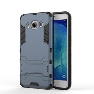 Odolný kryt pre mobil Samsung Galaxy J5 (2016) - šedomodrý - 2