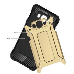 Armor 2v1 odolný obal pre Samsung Galaxy J5 (2016) - svetlomodrý - 2