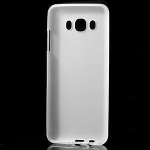 Matný gelový obal na Samsung Galaxy J5 (2016) - bílý - 2