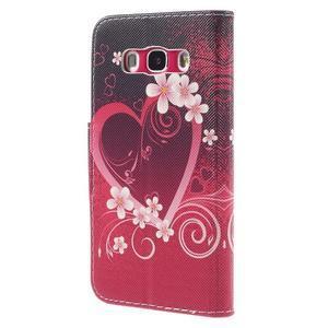Emotive pouzdro na mobil Samsung Galaxy J5 (2016) - srdce - 2