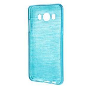 Brushed gelový obal na mobil Samsung Galaxy J5 (2016) - modrý - 2
