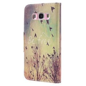 Emotive puzdro pre mobil Samsung Galaxy J5 (2016) - vtáčiky - 2