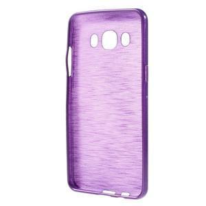 Brushed gelový obal na mobil Samsung Galaxy J5 (2016) - fialový - 2