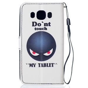Colory pouzdro na mobil Samsung Galaxy J5 (2016) - dont touch - 2