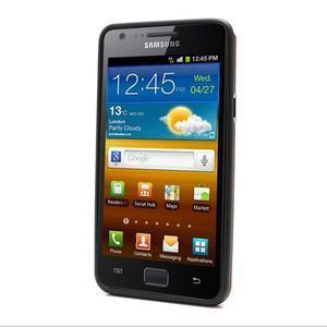 Cube odolný obal pre mobil Samsung Galaxy S2 - červený - 2