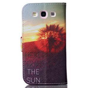 Emotive peňaženkové puzdro pre Samsung Galaxy S3 - východ slnka - 2