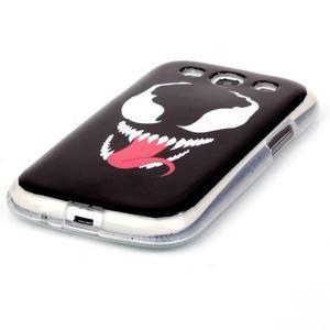 Gelový obal na mobil Samsung Galaxy S3 - monstrum - 2