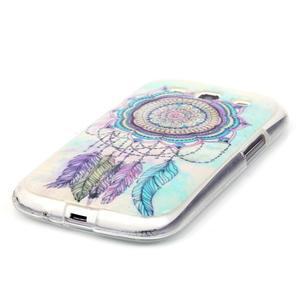 Gelový obal na mobil Samsung Galaxy S3 - lapač snů - 2