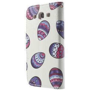 Funy pouzdro na mobil Samsung Galaxy S3 - malovaná vajíčka - 2