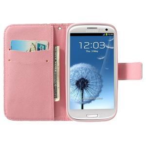 Funy puzdro pre mobil Samsung Galaxy S3 - kvety - 2