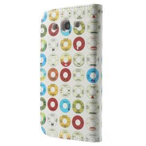 Funy puzdro pre mobil Samsung Galaxy S3 - disky - 2