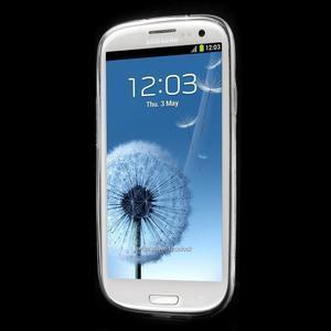 Ultratenký gelový obal na mobil Samsung Galaxy S3 - láska - 2