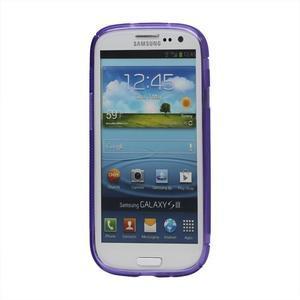 S-line gelový obal na Samsung Galaxy S3 - fialový - 2