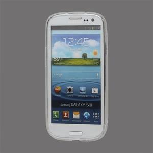 S-line gélový obal pre Samsung Galaxy S3 - transparentný - 2